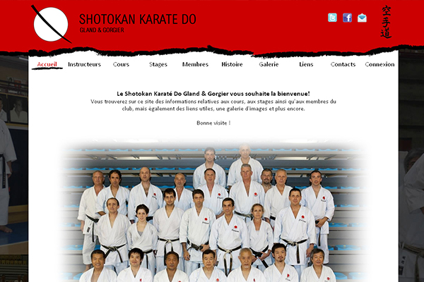 Web about Karate