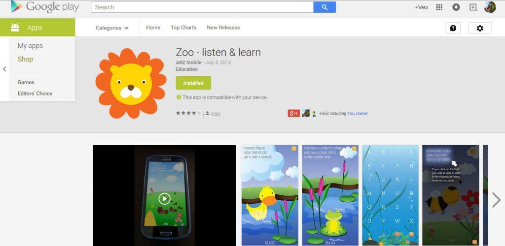 Zoo Listen & Learn