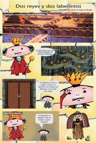 Cartoon adaptation of the story \\