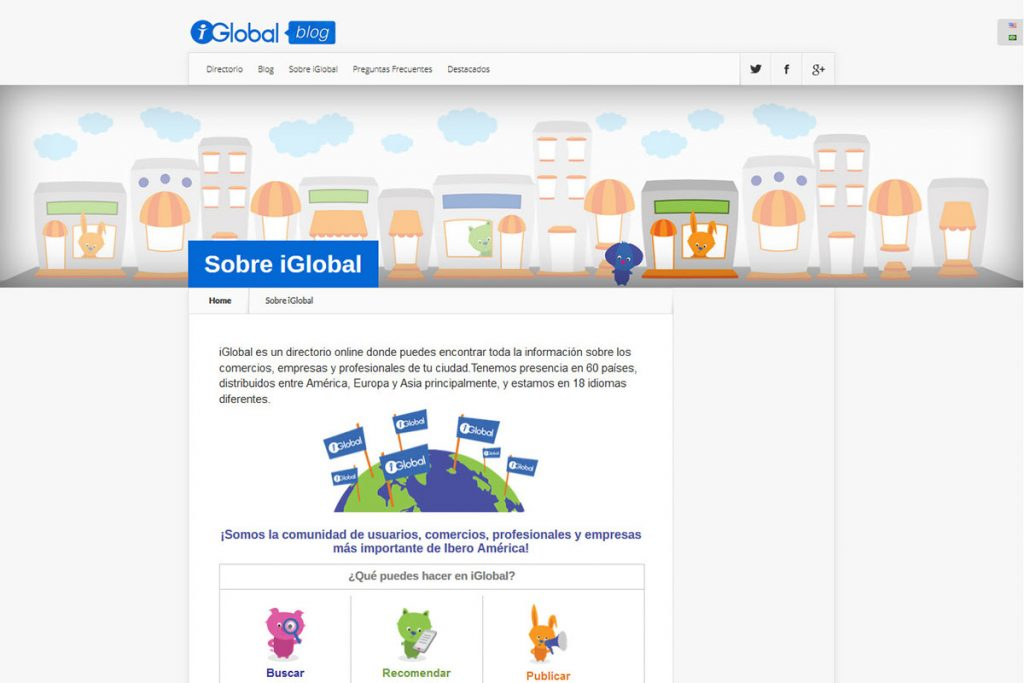 Iglobal Blog is a web like a business and services guide.
