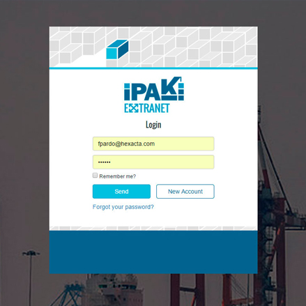 Ipaki is an application to handle container loading and unloading in the ports of Africa.  Bolloré